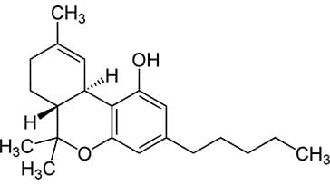 image of chemical composition thc