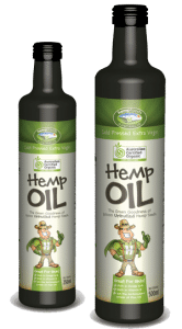 image of hemp oil
