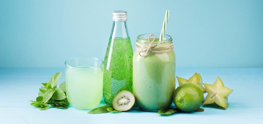 detox green smoothie drinks