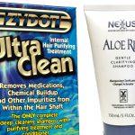 Nexxus Aloe Rid & Zydot Ultra Clean shampoos